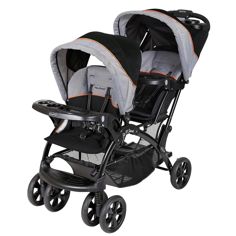 Baby Trend Double Sit N Stand Stroller, Millennium Orange SS76203