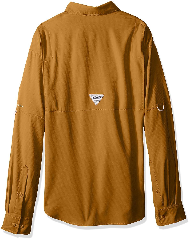 Wicking Fabric Columbia Mens PFG Tamiami II Long Sleeve Shirt UPF 40 Sun Protection