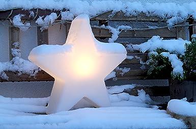 8 Seasons Design Outdoor Light with Energy Saving Bulb, White, 40 cm ...