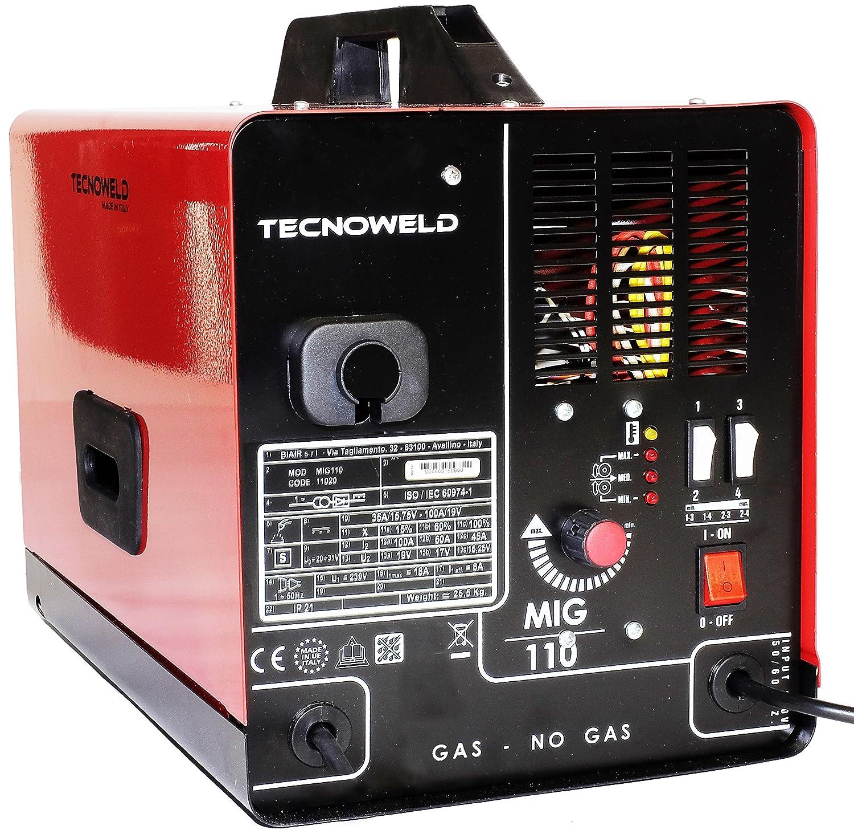Proweltek PR1269 Soldadora inverter para soldadura MIG gas y sin gas A 100: Amazon.es: Bricolaje y herramientas