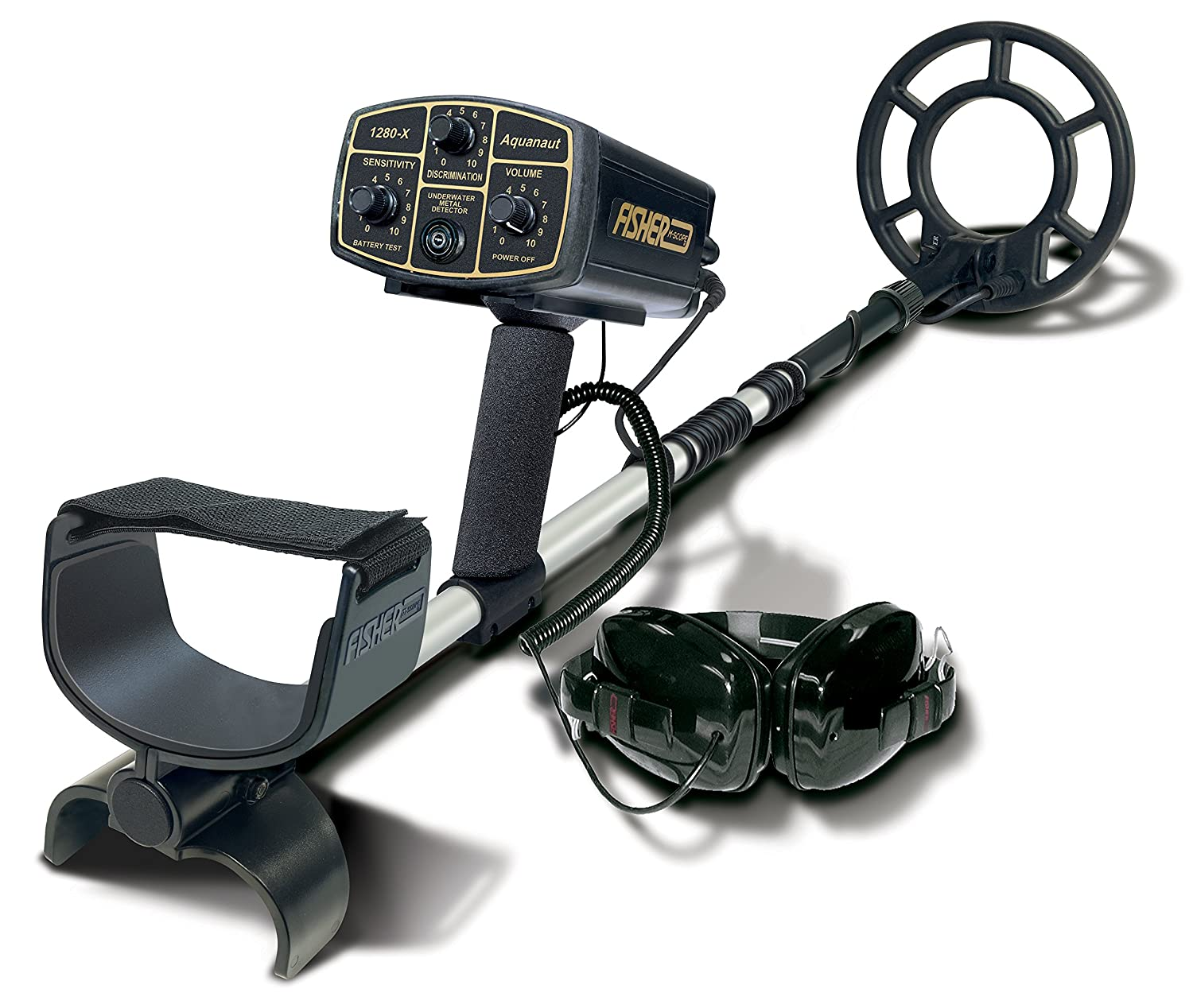 Fisher 1280X-8 Underwater All-Purpose Metal Detector