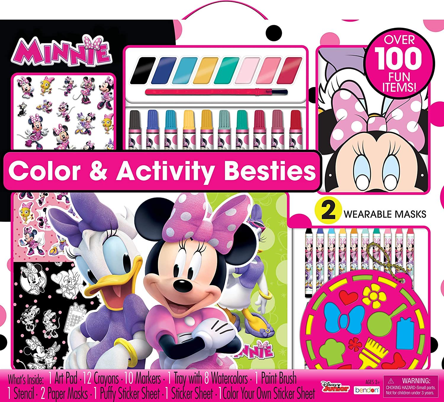 Amazon Disney Mickey Mouse 400 Pages Of Coloring Fun Dalmatian Press Toys Games