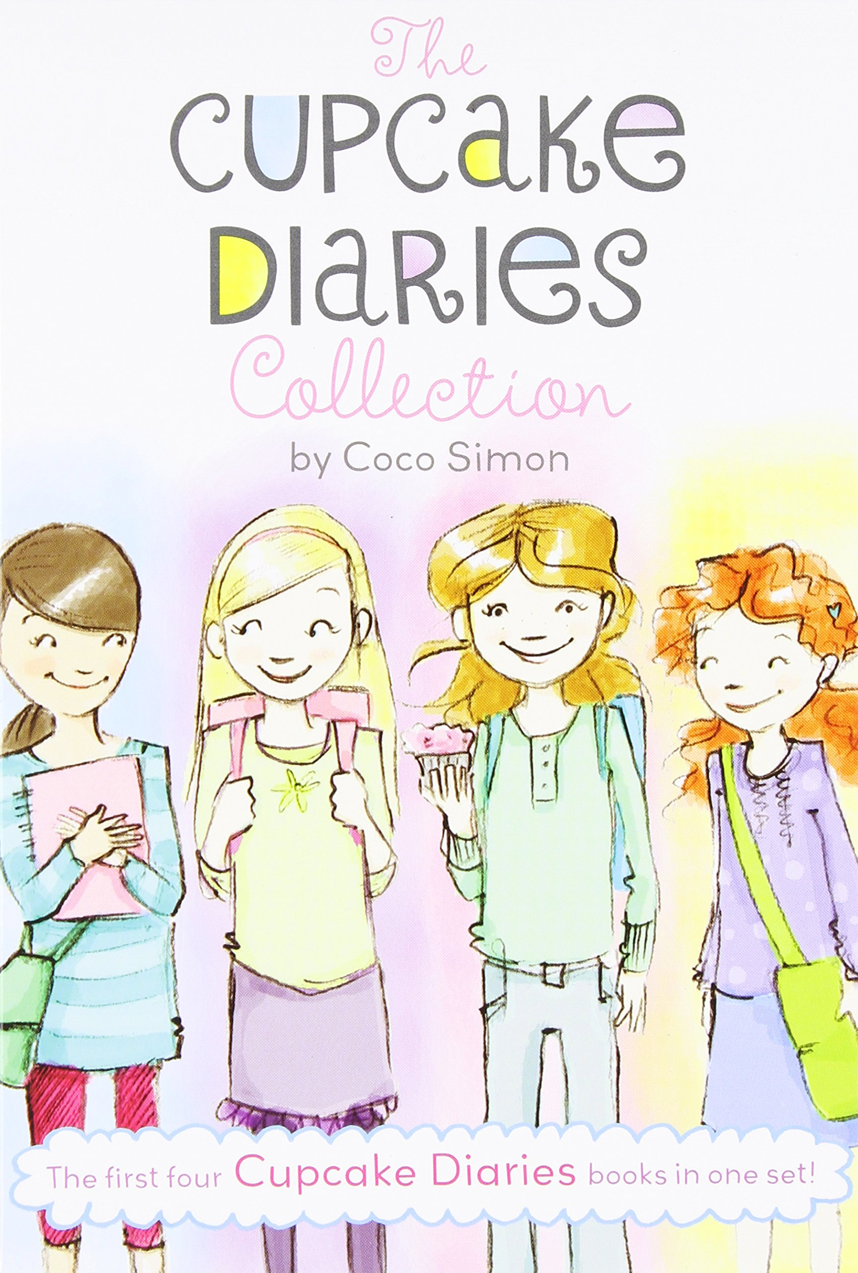 The Cupcake Diaries Collection: Katie and the Cupcake Cure; Mia in the Mix; Emma on Thin Icing; Alexis and the Perfect Recipe by Simon Spotlight