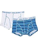 Oiler& Boiler Nantucket 2PK Simple Stripe Blue Without Fly Men's Boxers