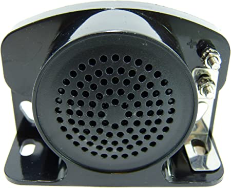 4 Inches 102DB 12V-24V GENSSI Backup Warning Alarm 102dB Beeper Tone Construction Truck Heavy Vehicle