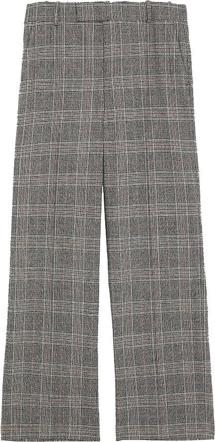 ZARA - Pantalón - para mujer gris XL: Amazon.es: Ropa y ...