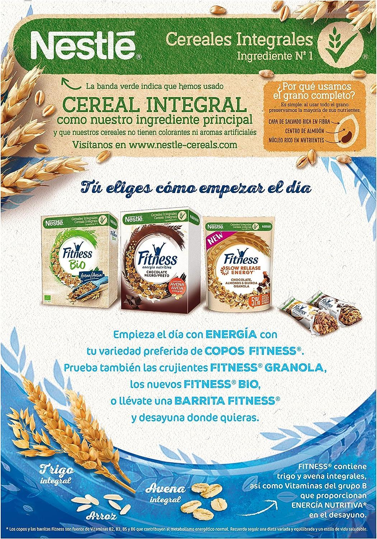 Cereales Nestlé Fitness Original Copos de trigo integral, arroz y ...