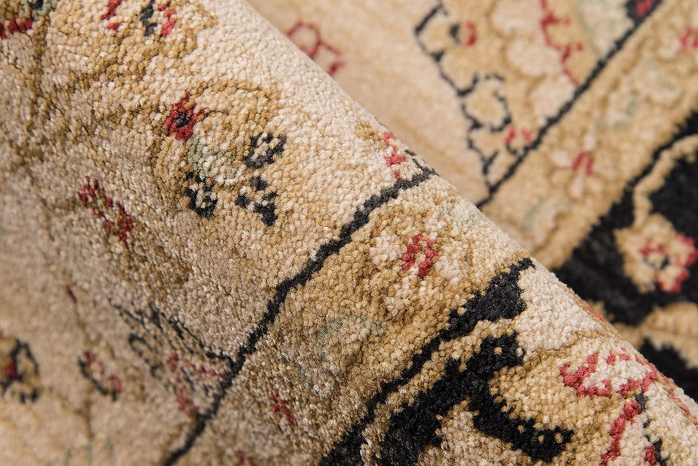 Momeni Rugs  Ziegler Collection Brown 2/' x 3/' Inc DROPSHIP ZIEGLZE-01BRN2030 Traditional Area Rug 2 x 3