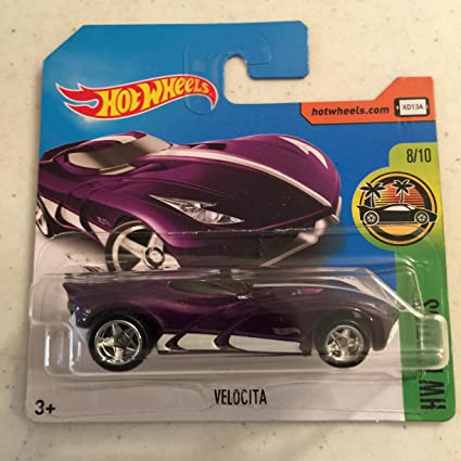 2017 Hot Wheels Super Treasure Hunt Velocita Purple [(Short) International Card] VHTF