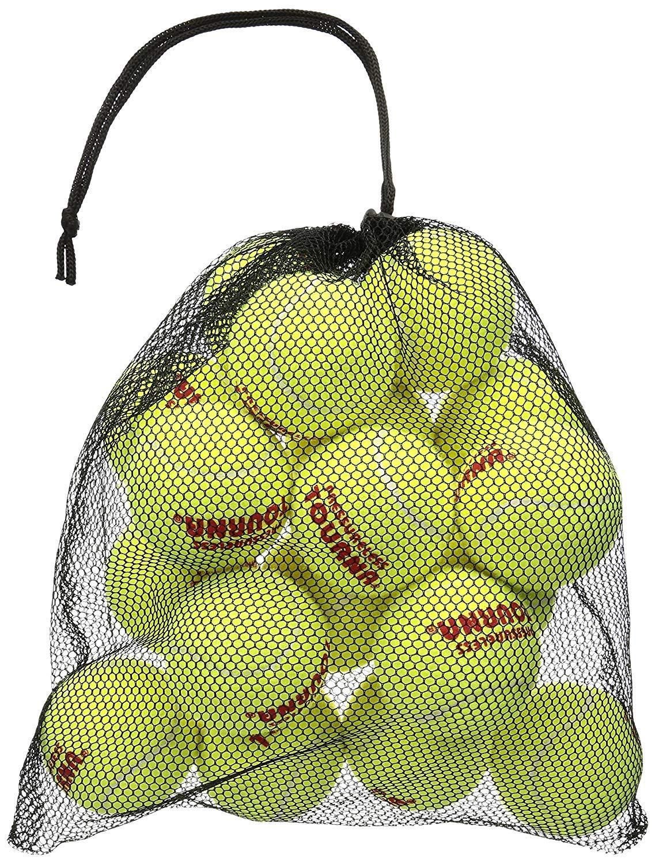 Tourna Mesh Carry Bag of 18 Tennis Balls (Pack of 3.)