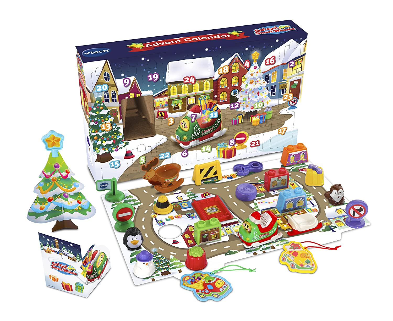 VTech Go! Go! Smart Wheels Advent Calendar (English Version) VTech - CA 80513000