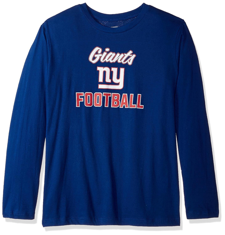 NFL Womens Giants L / S SCOOP NECK TEE B0752TVNY5  ロイヤル 4X