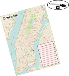 Laminated Map (Manhattan