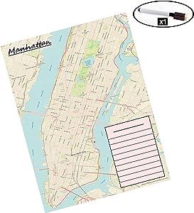 Laminated Map (Manhattan