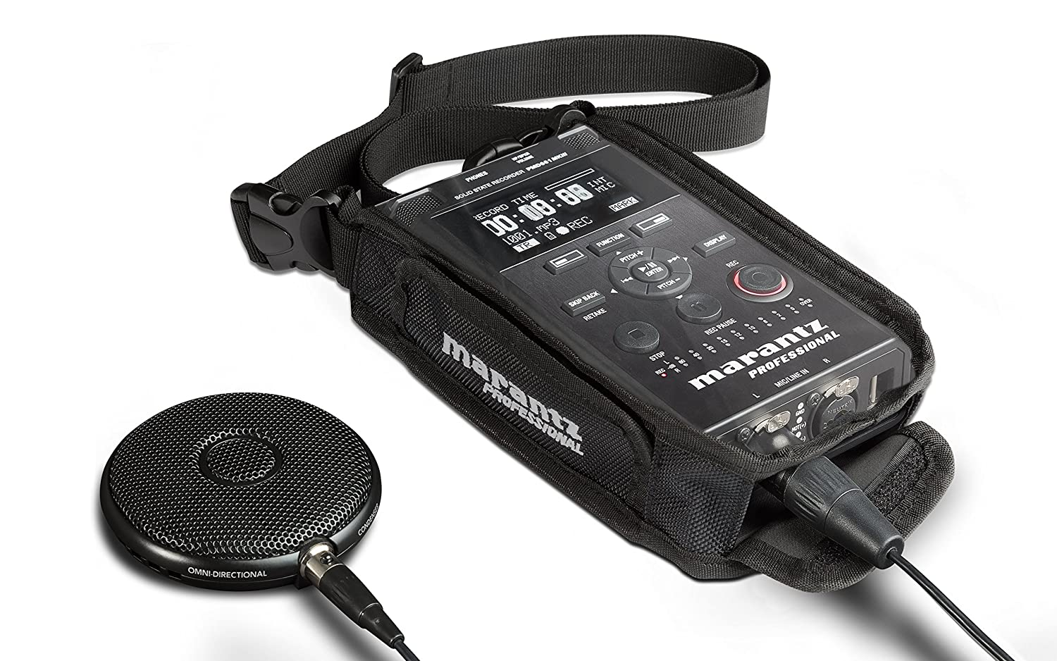 Marantz Professional PMD661MKIII   Handheld Solid State Field Recorder with On-Board File Encryption, Studio-Grade Recording Resolutions and Microphone Included 711l2gxUwfL._SL1500_