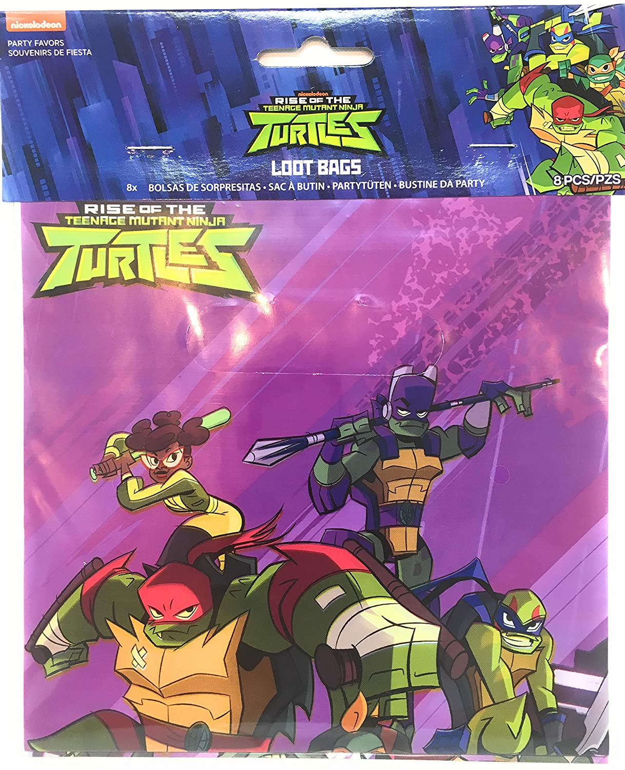 Amazon.com: Teenage Mutant Ninja Turtles Party Favors TMNT ...