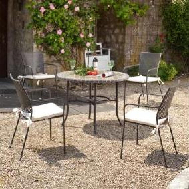 Sonnenpartner Gartenmobel 5 Teilige Tischgruppe Stuhl Paris Und