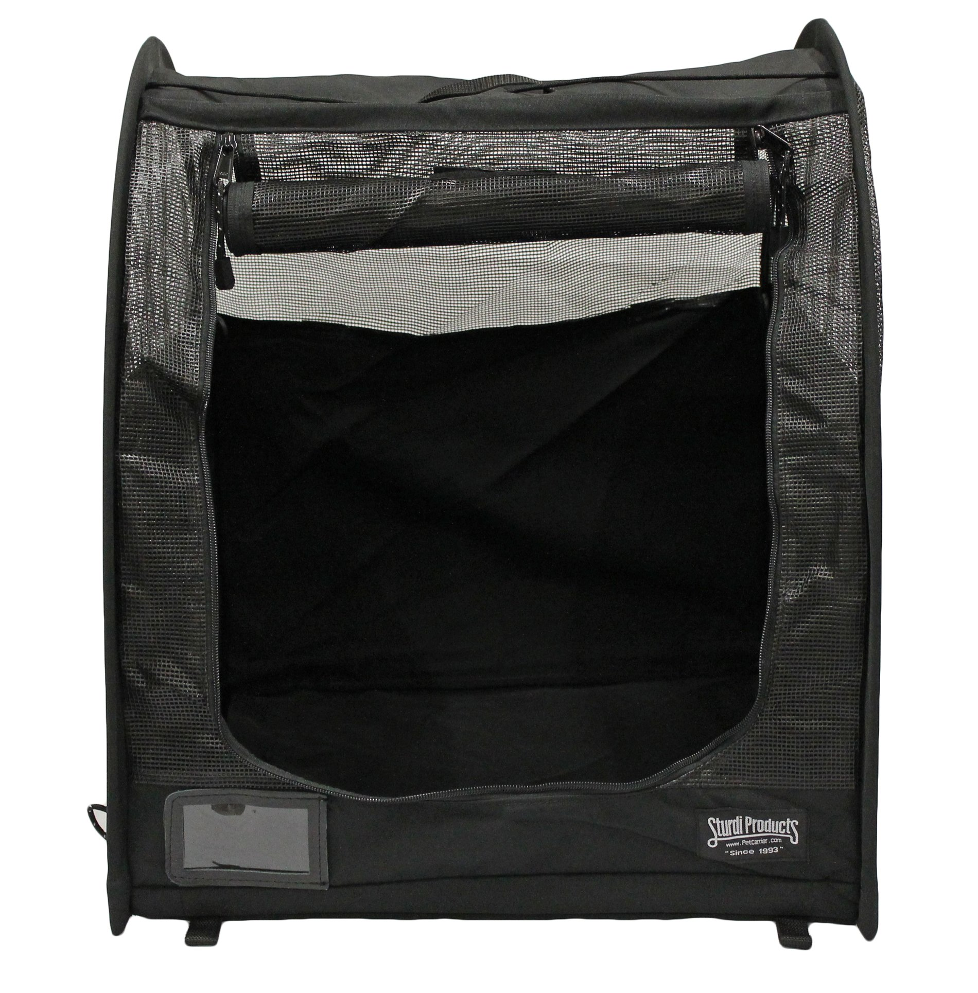 Sturdi Products Car-Go Single Pop-Up Pet Shelter, Black