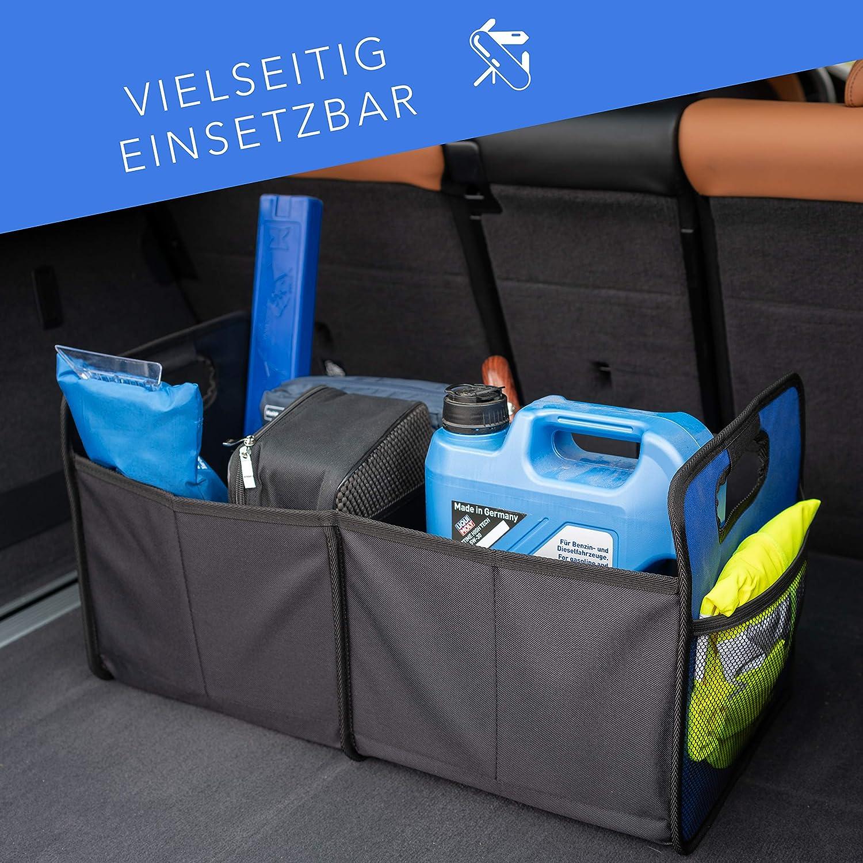 Innenbereich Reisen Minivan SUV langlebig LKW Aufbewahrungsbox f/ür Auto f/ür Einkauf Youkara Kofferraum-Organizer