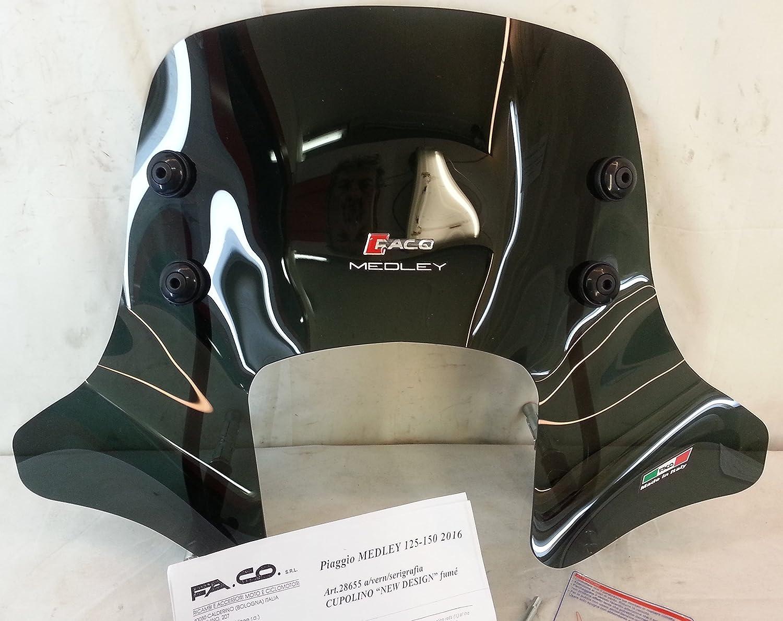 Faco - Cú pula Piaggio Medley 125 –  150 cc 2016. Cod. 28655
