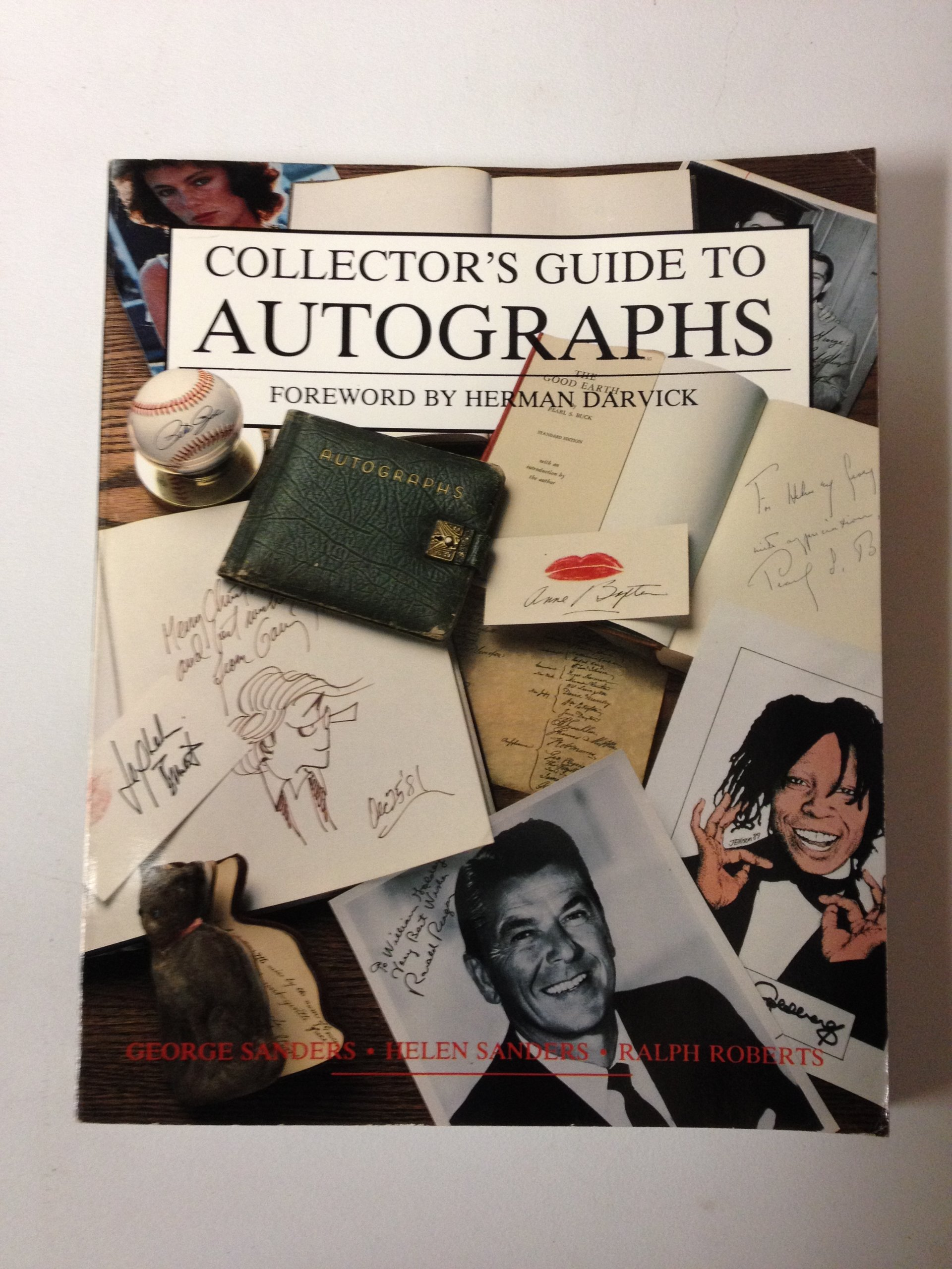 Collector's Guide To Autographs  WALLACE HOMESTEAD COLLECTOR'S GUIDE SERIES