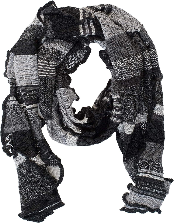 Invero Merino Schal Manu 100/% Wolle