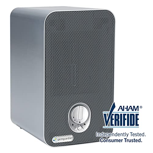 GermGuardian AC4100 3-in-1 Desktop Air Purifier - Best Air Purifier for Pets and Smoke