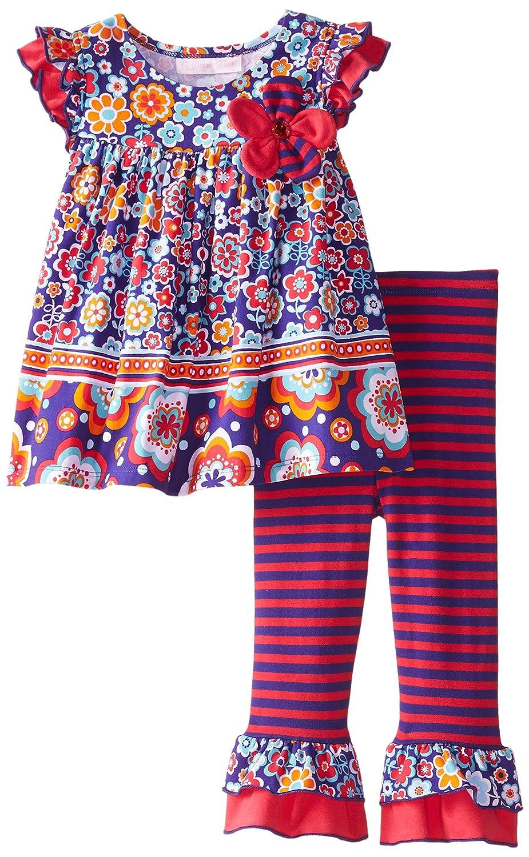 独特な Bonnie Babyベビー女の子Floral パープル Flutter Sleeveレギンスセット 12 12 Months パープル Bonnie B00V6YI8OO, COUNTRY WOOD GARDEN:09ec56bd --- a0267596.xsph.ru