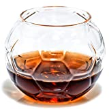 Soccer Whiskey Glass - Rocks Glass for