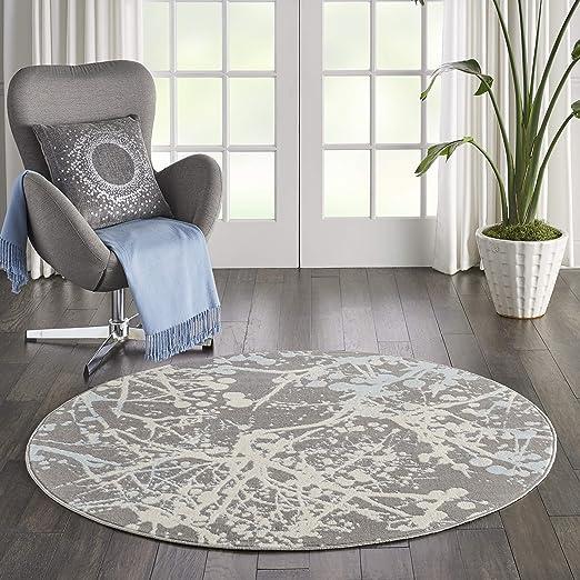Marca de Amazon Movian Timok, alfombra redonda, 160 x 160