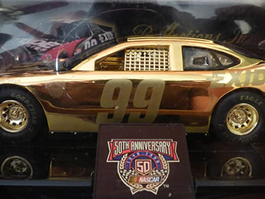 Amazon.com : NASCAR 50th Anniversary 24 K Gold Burton Car #99 : Sports Fan Toy Vehicles : Sports & Outdoors