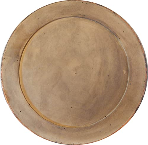 COLOR Y TRADICI N Mexican Round Copper Table Top Hand Hammered Rio Grande Patina 54