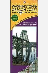 Washington & Oregon Coast Road & Recreation MemoryFold Map, 6th Edition Map