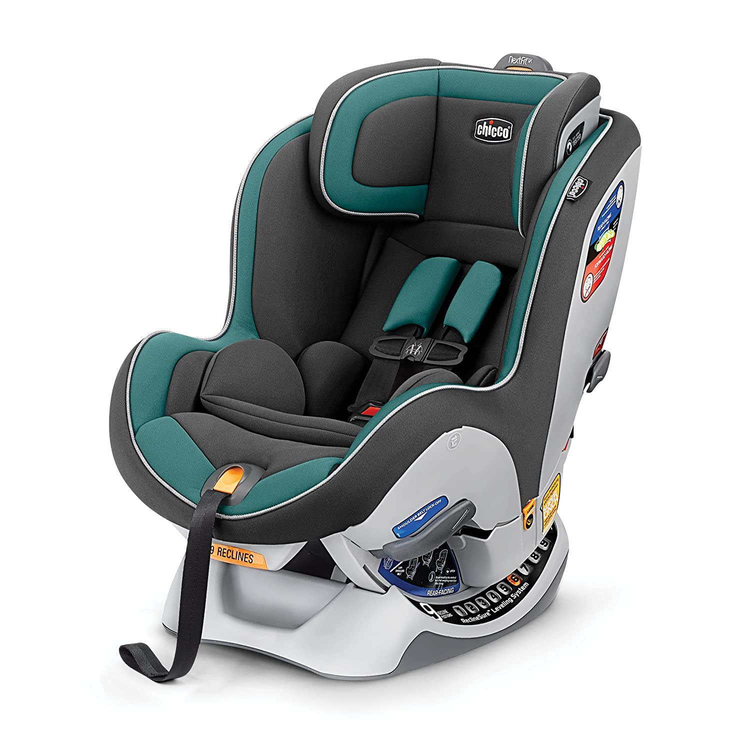 Chicco NextFit iX Convertible Car Seat, Sea Coral 06079776240070