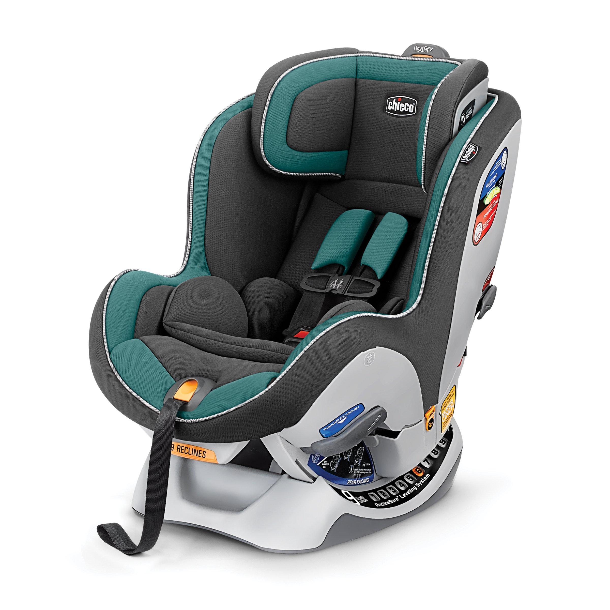 Chicco NextFit IX Convertible Car Seat Eucalyptus
