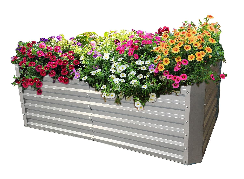 Gabiona Hochbeet für Garten, Terrasse & Balkon