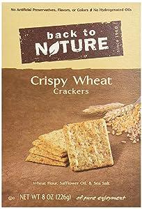 Back to Nature Non-GMO Crackers, Crispy Wheat, 8 Ounce
