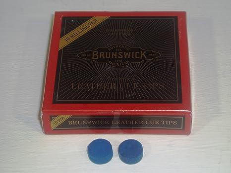 Diamante azul de BRUNSWICK puntas de palo de billar * *: Amazon.es ...