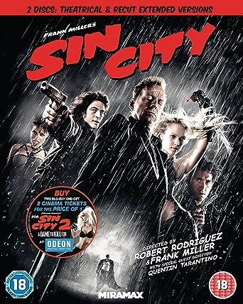 Sin City [Edizione: Regno Unito] [Italia] [Blu-ray]: Amazon.es: Cine y Series TV