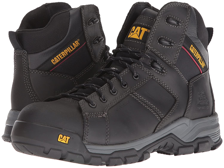 Amazon.com | Caterpillar Mens CARBONDATE Nano Toe Black Industrial Boot | Industrial & Construction Boots