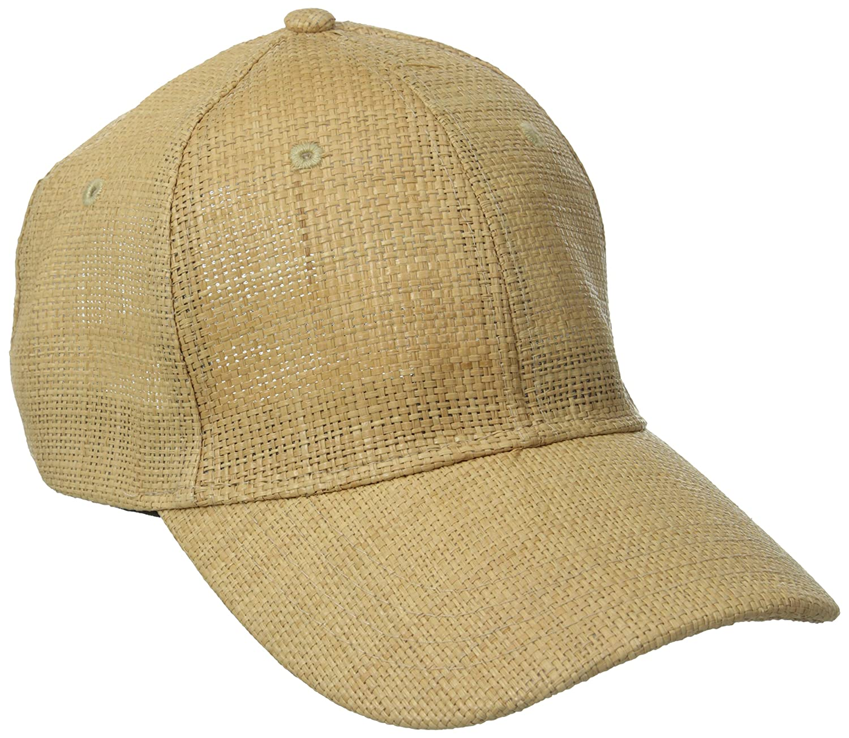 San Diego Hat Company Women s Woven Raffia Ball Cap 1d63f0cef86