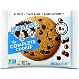 Lenny & Larry's The Complete Cookie Snack Size, Chocolate Chip, Soft Baked, 8g Plant Protein, Vegan, Non-GMO 2 Ounce…
