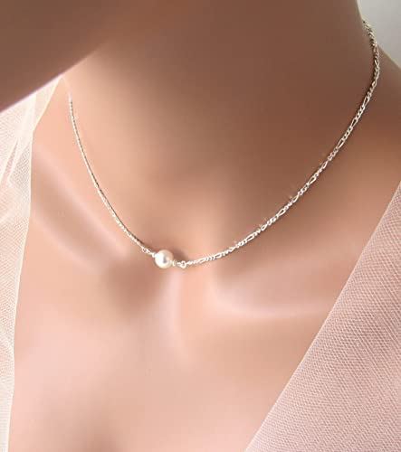 is necklace loading bridesmaid set crystal wedding s and gift jewellery itm image pearl swarovski