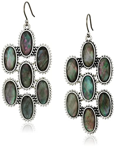 Lucky Brand Mother Of Pearl Chandelier Earrings