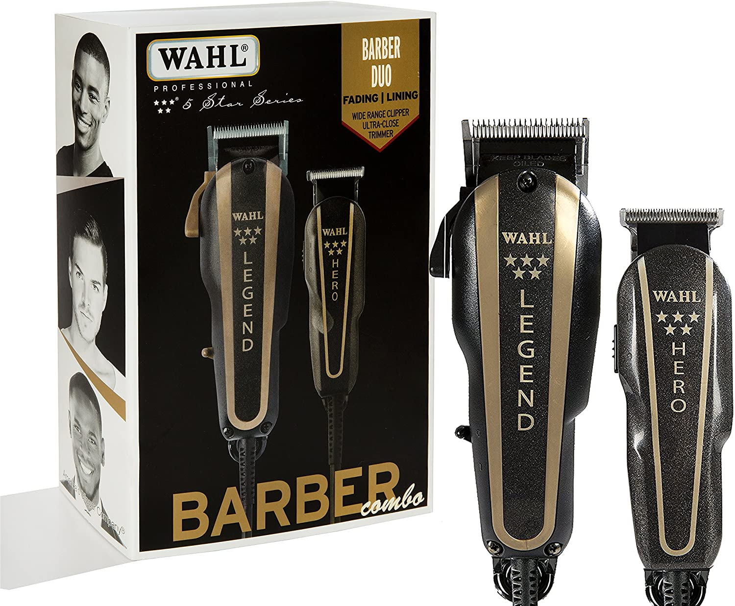 WAHL Professional 5 Star Barber Combo - Model # 8180