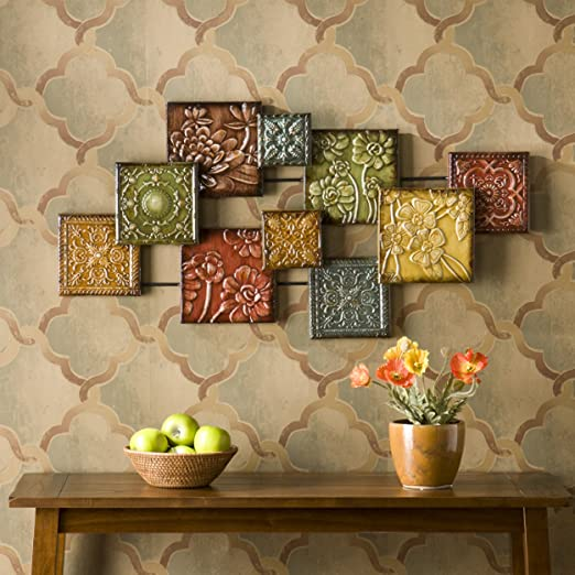 Bijou Wall Sculpture - Metal Geometric Wall Decor