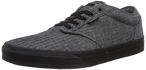 8e1775a4ca06 Vans Men s Atwood (Textile) Black Cordovan Skate Shoe 11 Men US ...