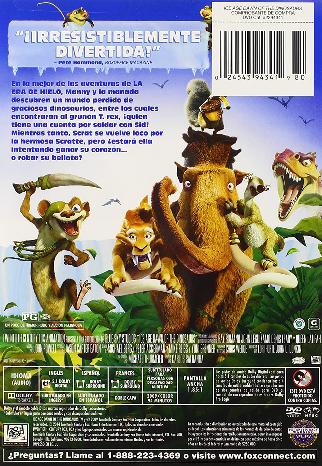 Amazon.com: Ice Age 3: Dawn of the Dinosaurs: Ice Age 3: Dawn of the Dinosaurs: Movies & TV