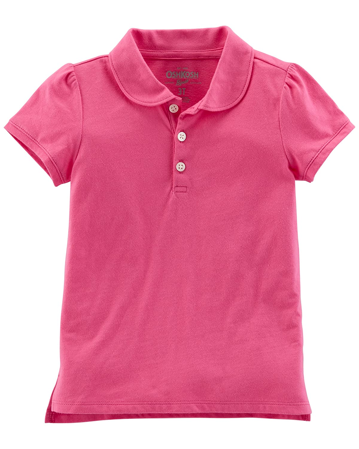 OshKosh B'Gosh Girls' Short Sleeve Uniform Polo Osh Kosh