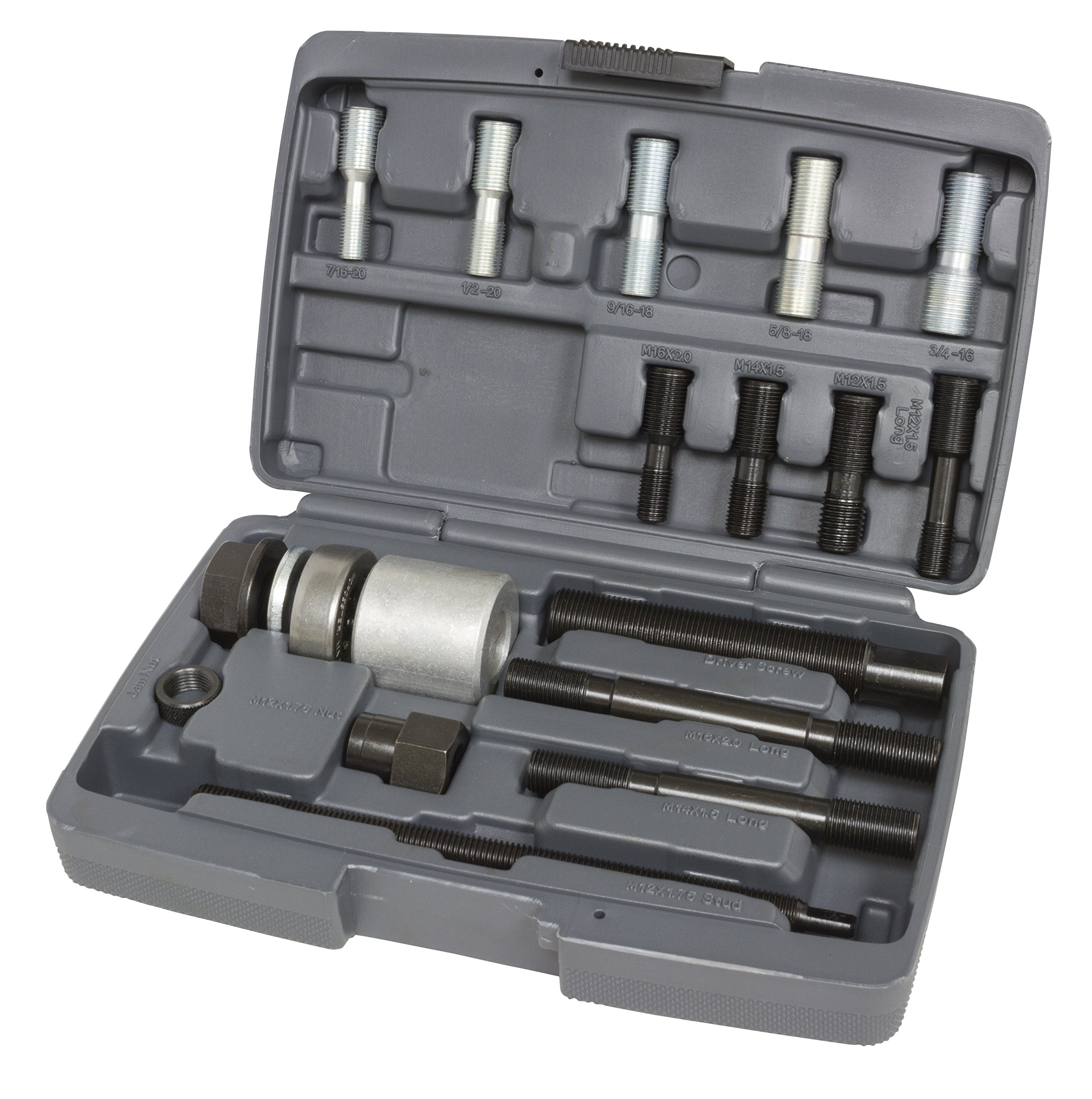 Lisle 53760 Harmonic Balancer Installer Kit (12 Adapters) by Lisle (Image #1)